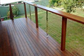 Merbau Deck and Balustrade.
