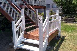 Brand New Hardwood Staircase
