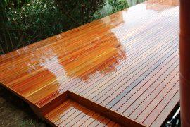 Iron Bark Deck