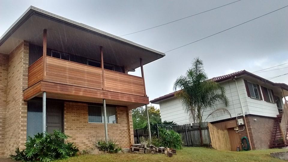 Balcony renovation s i carpentry for Balcony renovation