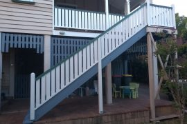 16 Step Hardwood Staircase Replacement