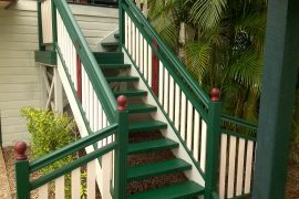 External L Shaped Staircase