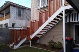Albion Staircase with Balustrade to match Street Design