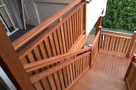 Solid Merbau Front Staircase – Bardon