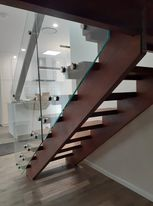 Internal open riser Staircase Design and Build